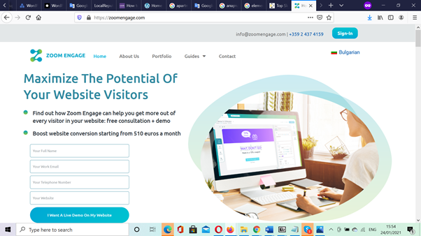 Website Design for SaaS Bulgaria